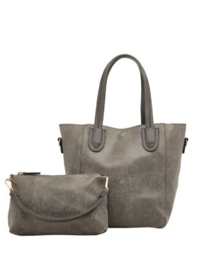 Baby Cairo Snake Grey Internal Bag